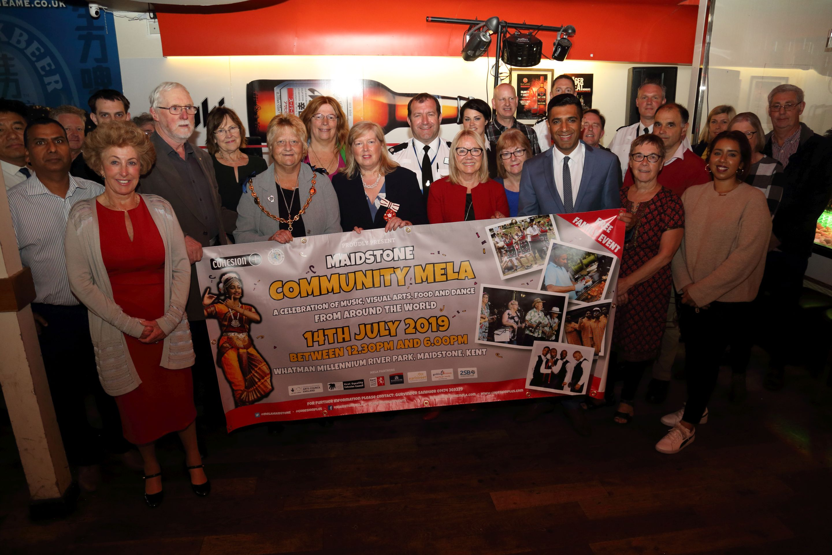 Maidstone Mela Launch
