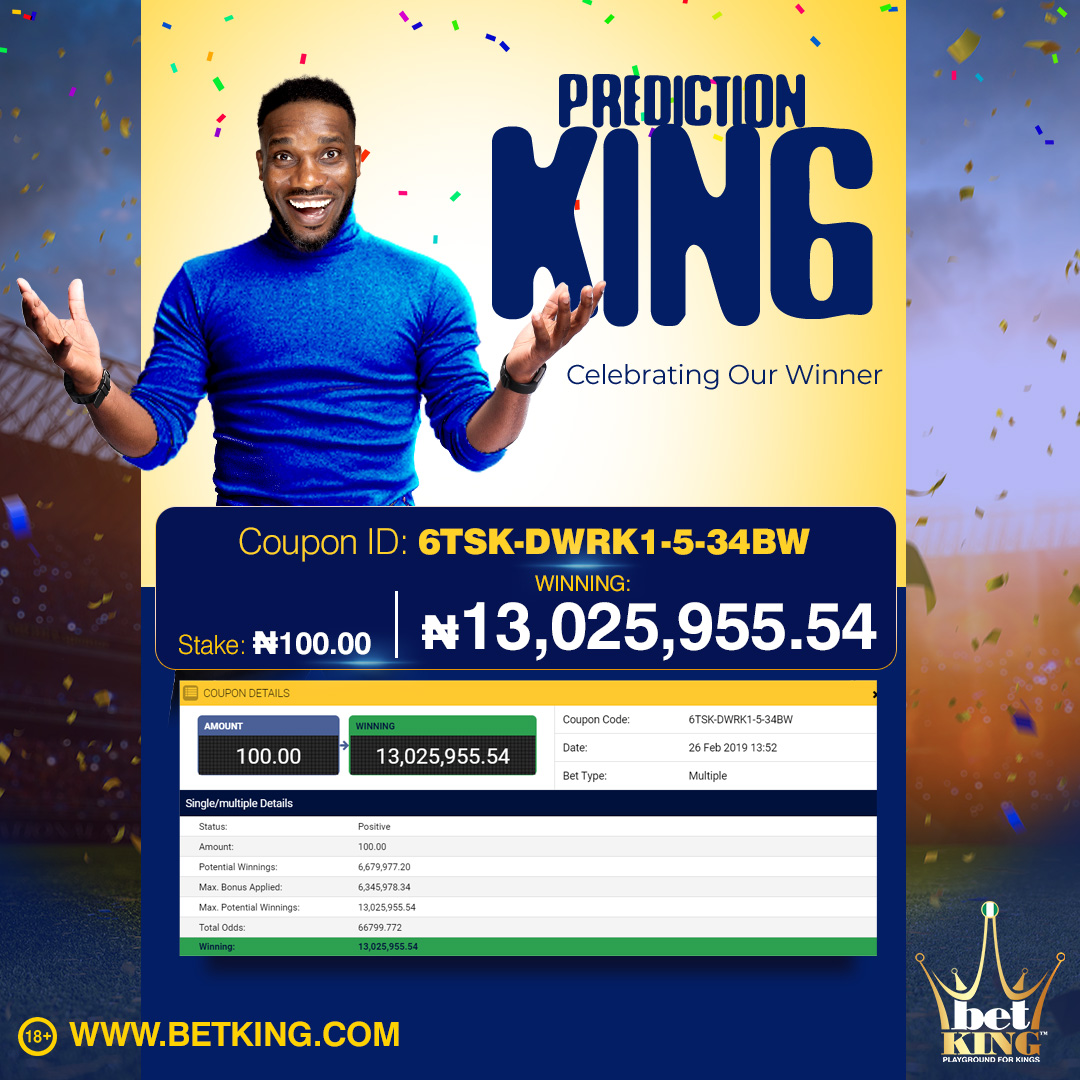 Prediction-King 13 MILLION