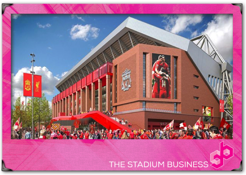 Redeveloped Anfield to feature two dedicated fan zones
