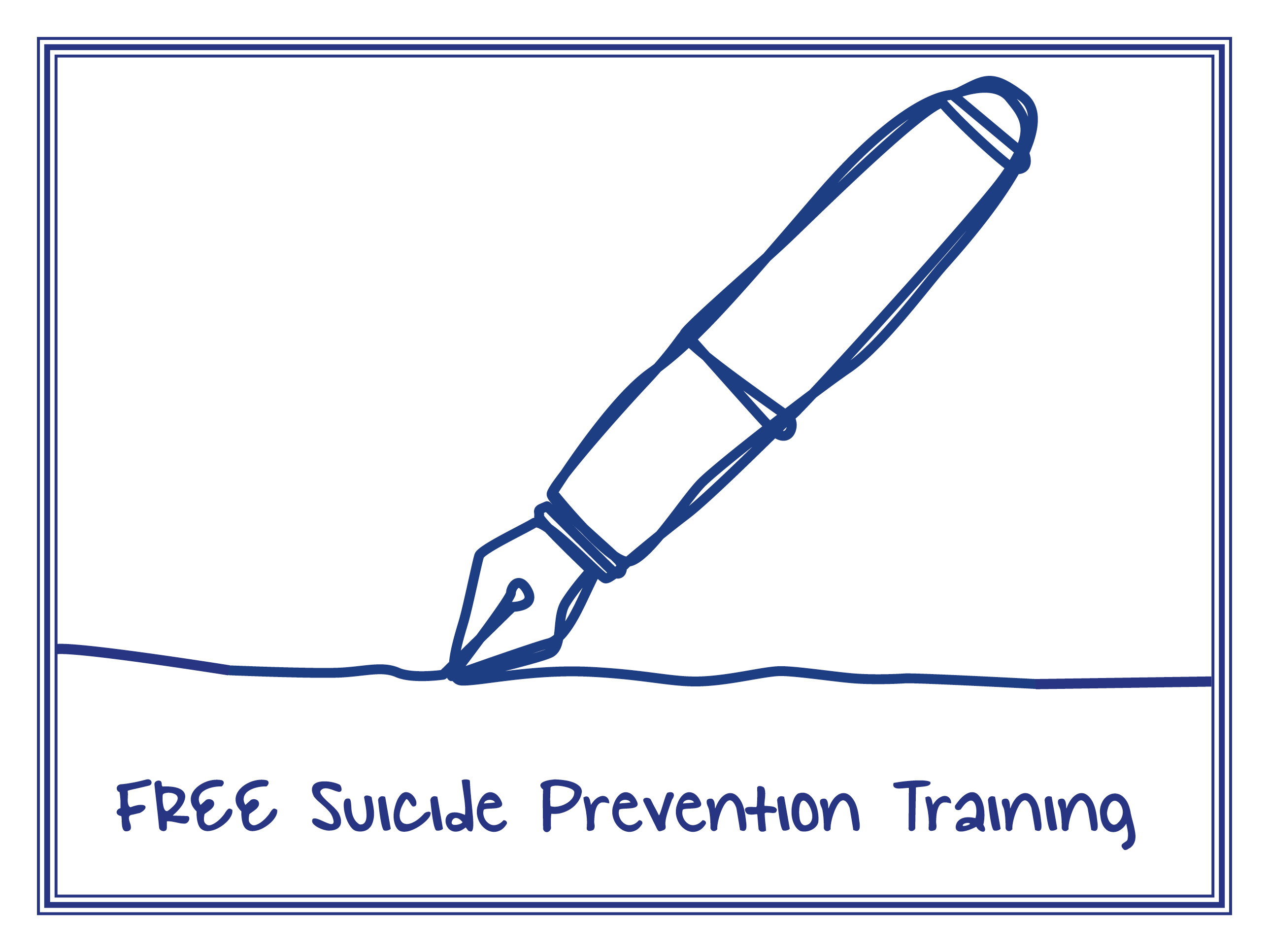 FREE Suicide Prevention Training Graphic