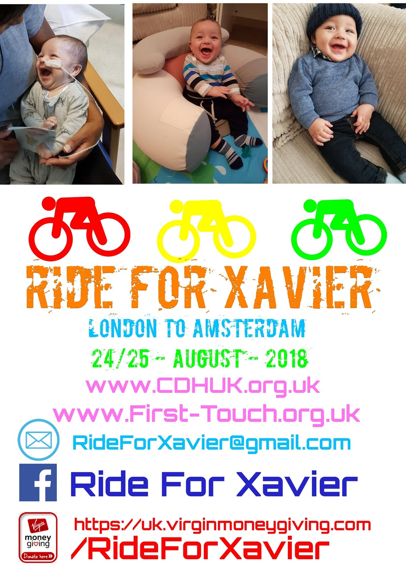 Ride for Xavier