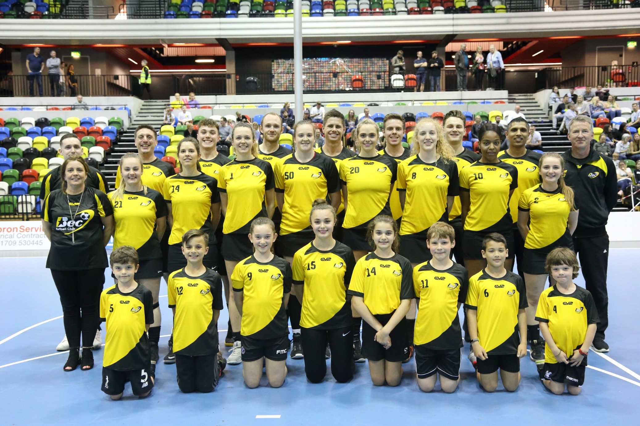 Korfball teams